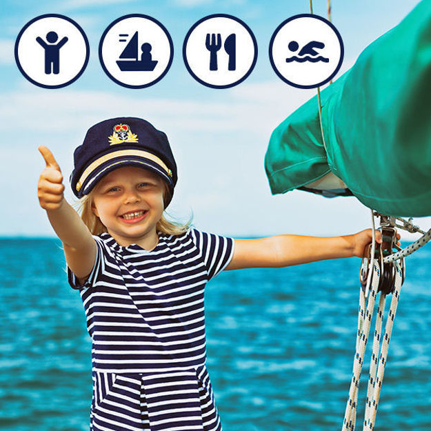 Picture of Child - place on a boat (food and activities included)